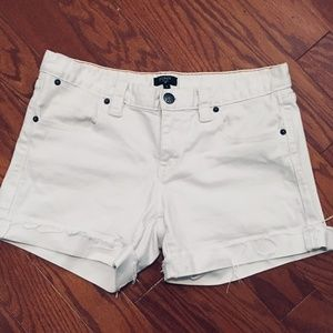 J.Crew White Shorts Size 6 MAKE OFFER